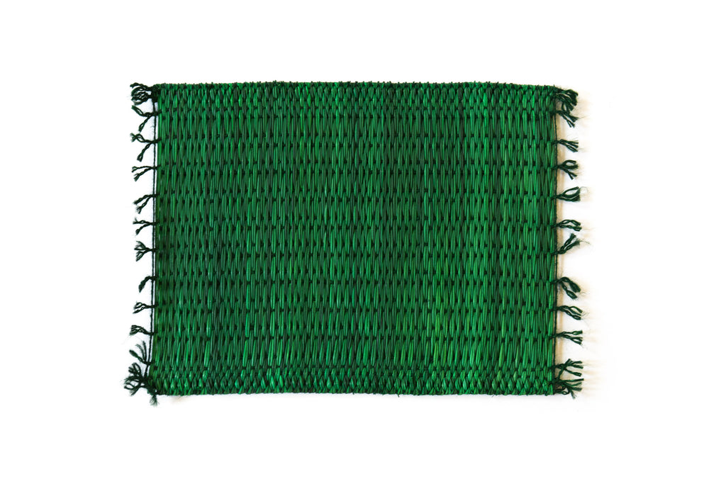 Palm Placemat - Green