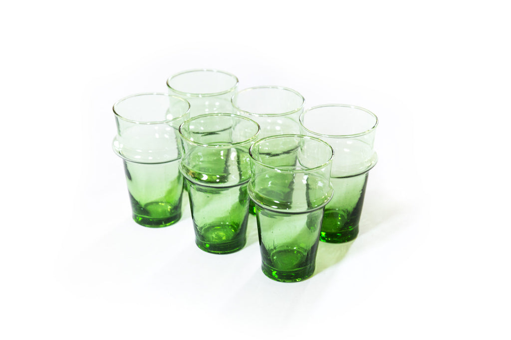 Beldi Glass - Traditional Green Mini