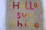 Hello Sunshine Jute Bag