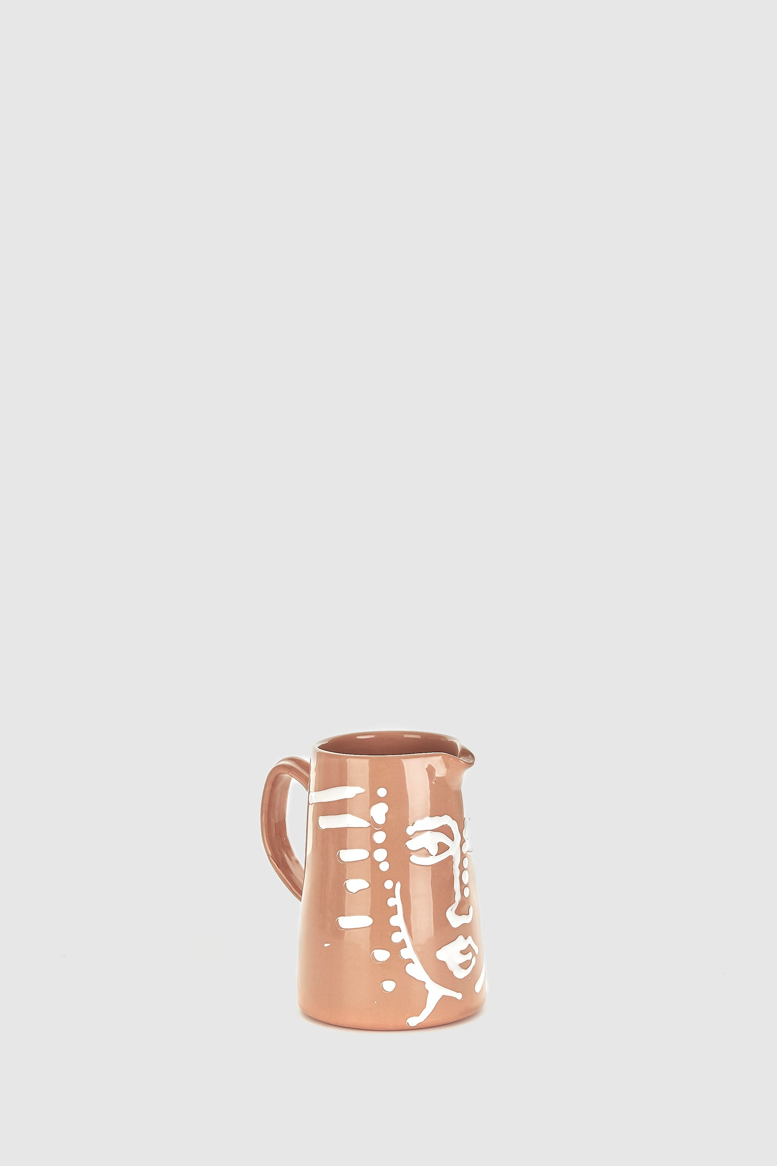 Water Pitcher 1L - Terracotta Face