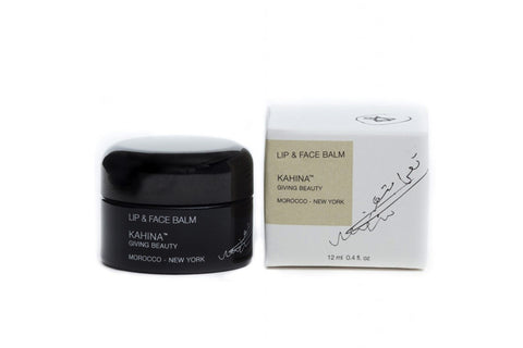 Kahina 100% Organic Lip & Face Balm Antioxidants