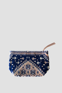 Lalla Carpet Clutch - Blue L