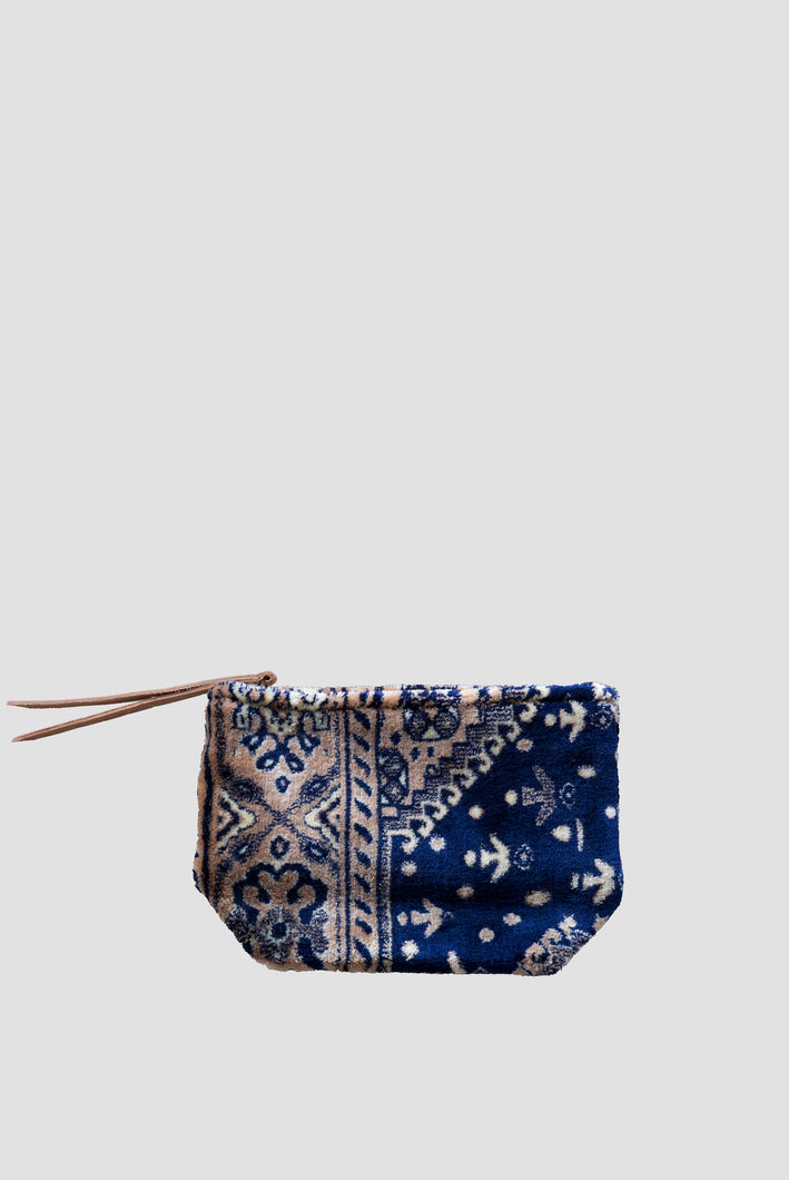 Lalla Carpet Clutch - Blue S