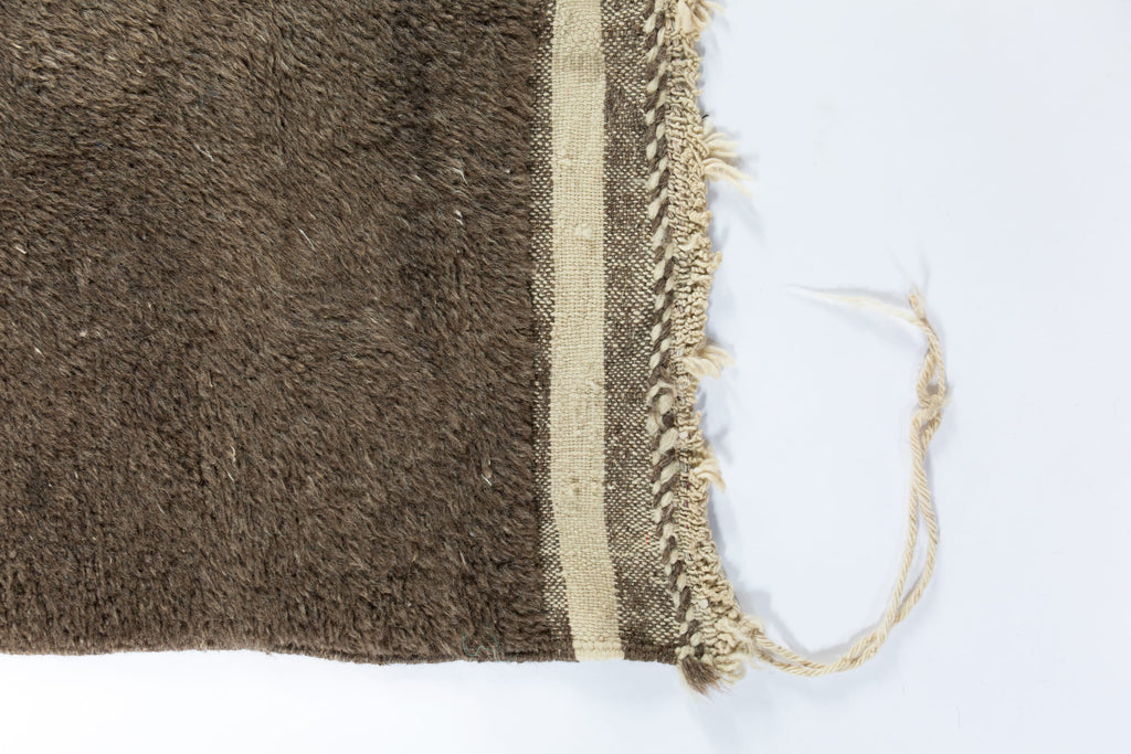 Contemporary Moroccan Large Area Rug Chocolate