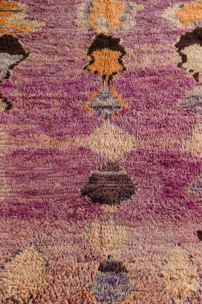Moroccan Boujad Rug Irregular Shapes