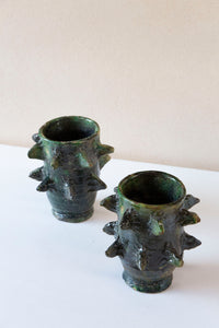 Tamegroute Spike Vase Green