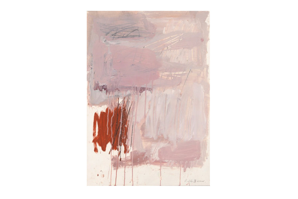 Art 'Pink Abstract #1' Giclee Print by Sylvia McEwan