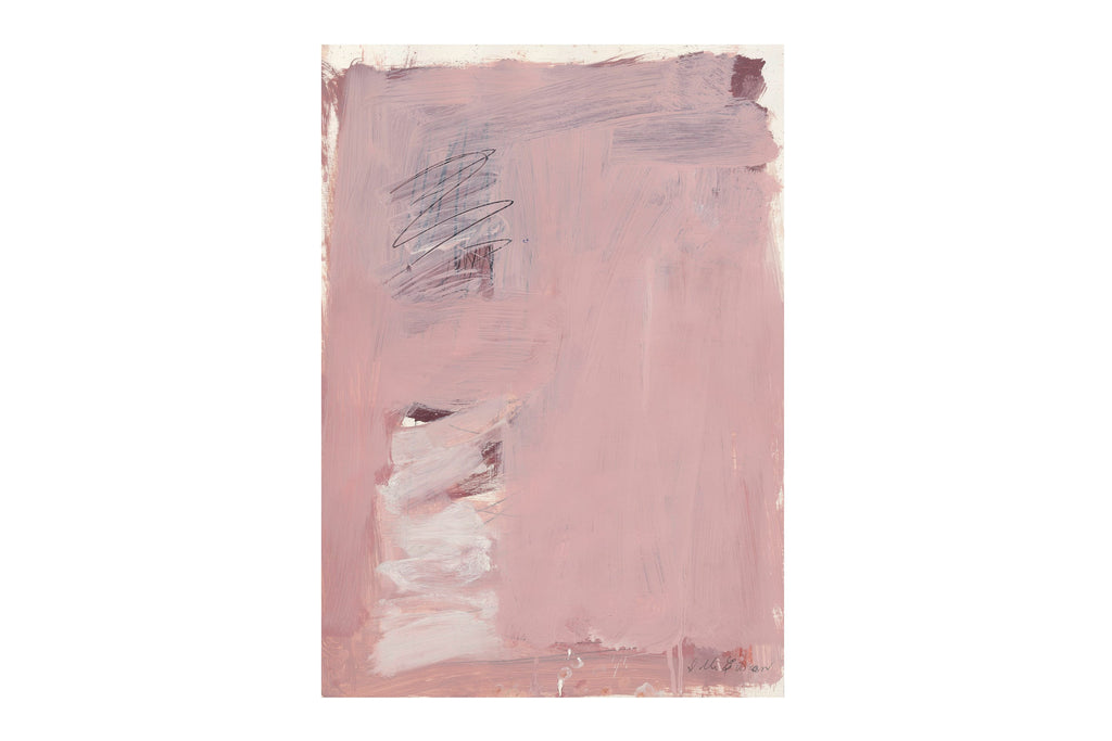 Art 'Pink Abstract #3' Giclee Print by Sylvia McEwan