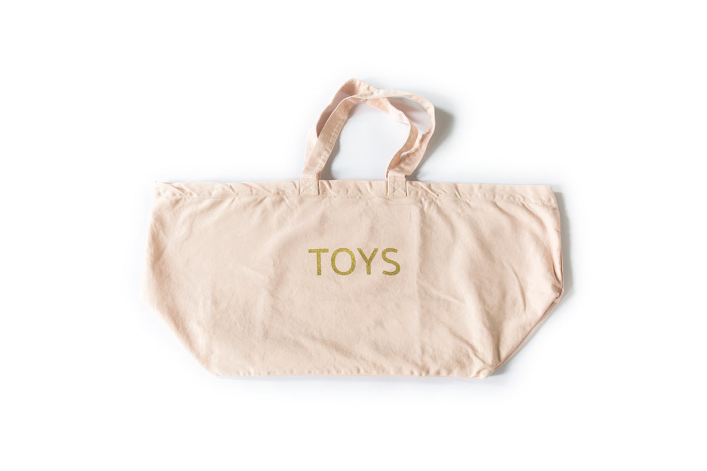 Canvas Toys Bag - Pink