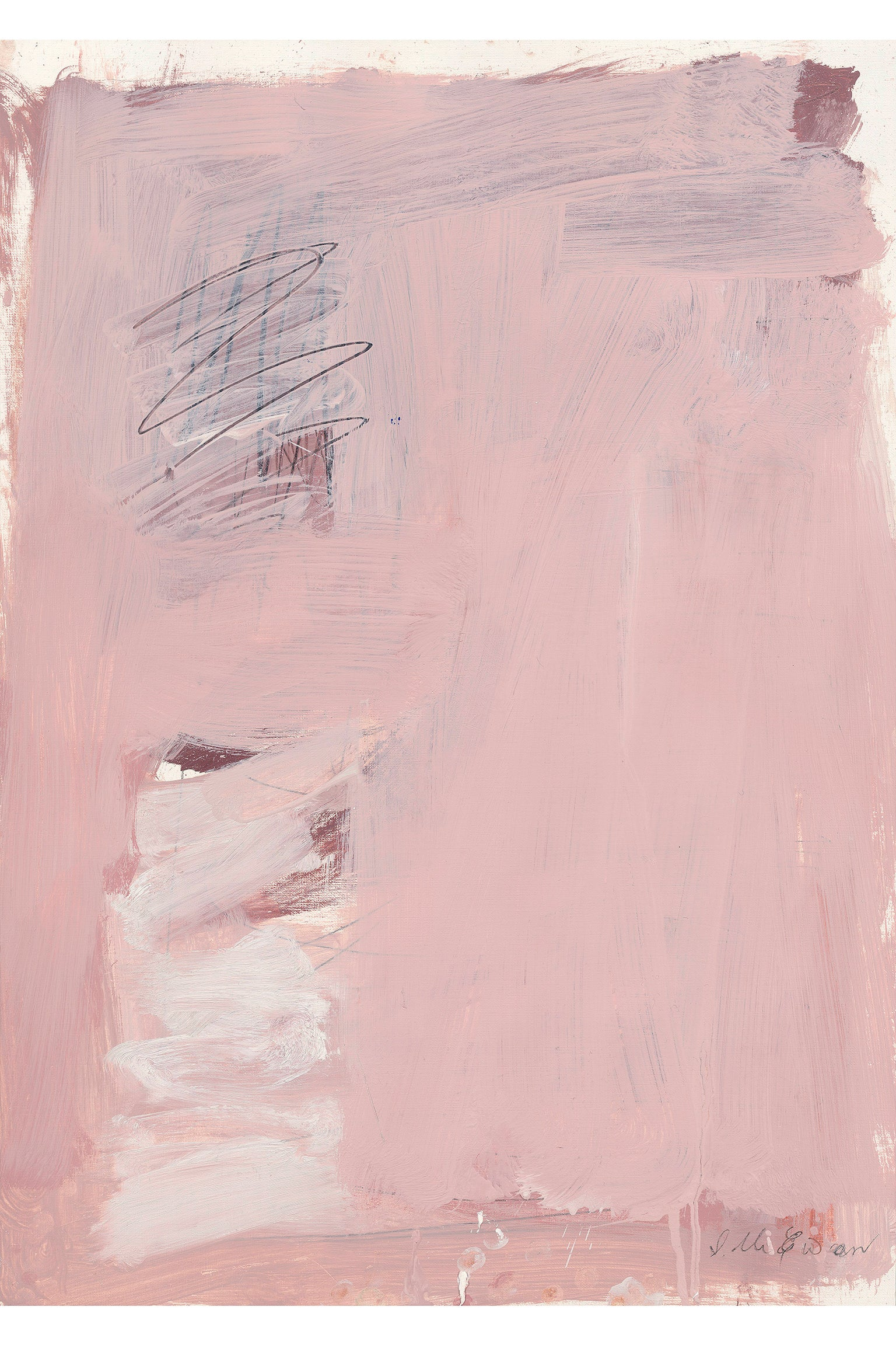 Pink Abstract No. 3 Print