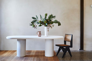 Organic Oval Dining Table