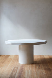 Organic Round Dining Table