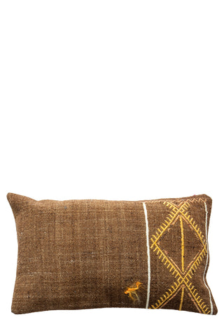 Yellow Hills Turkish Kilim Cushion