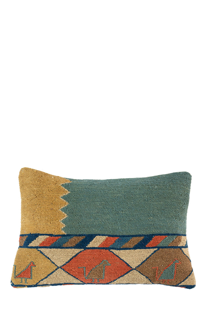 Used To Turkish Kilim Cushion