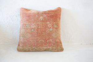 White Flag Turkish Kilim Cushion
