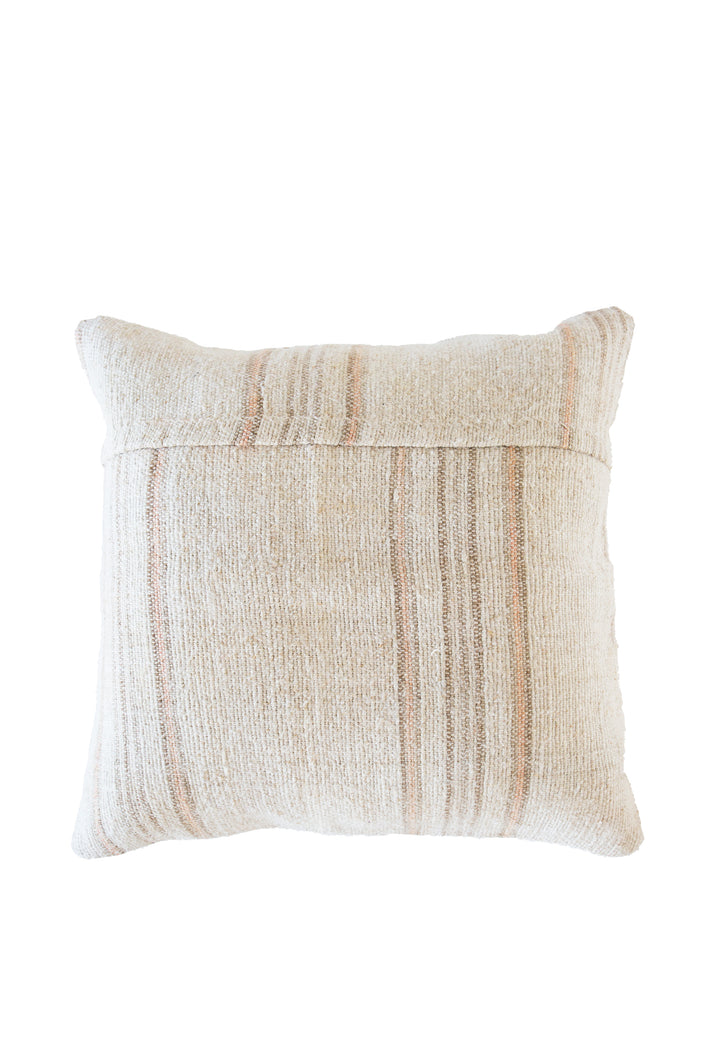 Peach Pit Turkish Kilim Cushion