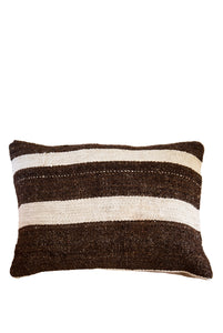 Dark Eyes Turkish Kilim Cushion