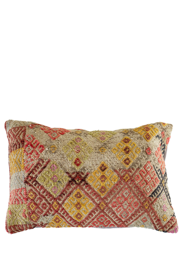 Talk It Out Turkish Kilim Cushion