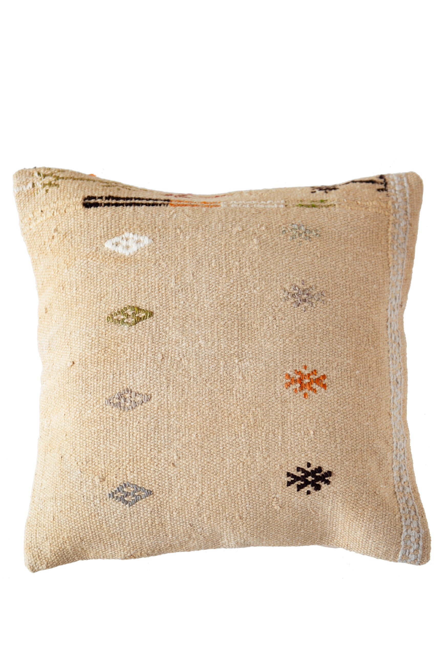 Wildflowers Turkish Kilim Cushion