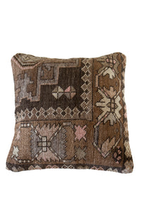 Exit Sign Turkish Kilim Cushion