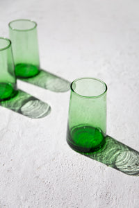 Beldi Glass - Contemporary Green