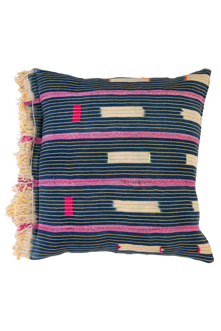 Vintage African Baoule Cushion 09