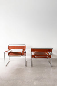 Model B3 'Wassily' Chairs - Pair