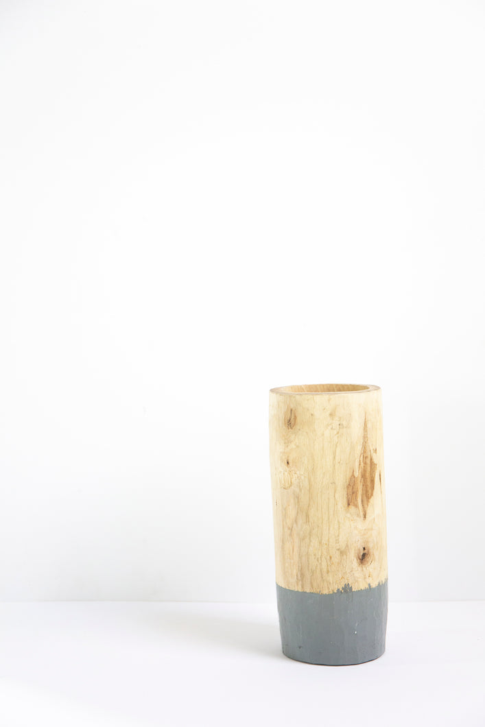 Walnut Jar - Grey 25cm