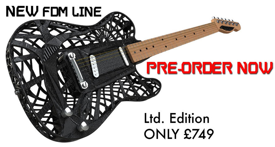 3D Printed Guitar ONLY £749.00