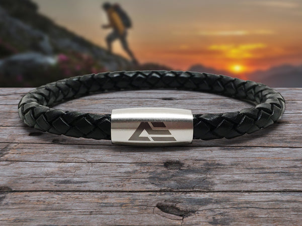 Active Edge™ Leather Bracelet