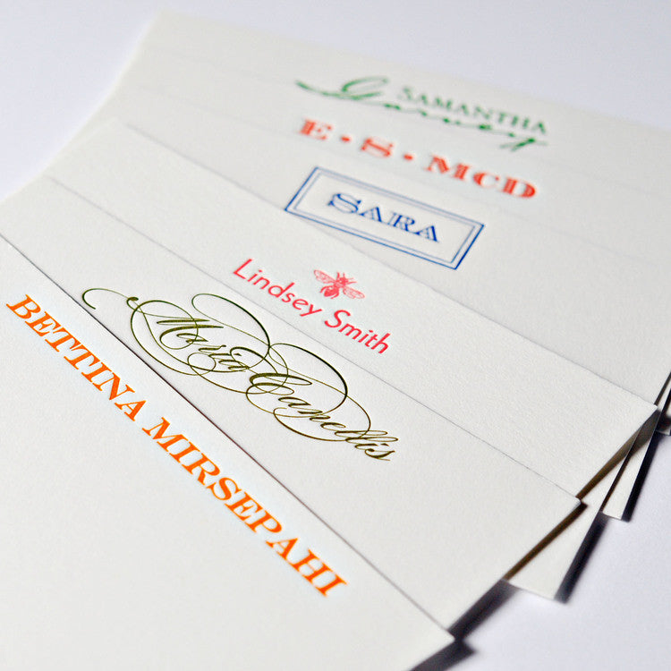 Personal Stationery - Design Your Own