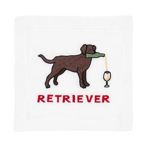 Lab Retriever Cocktail Napkins