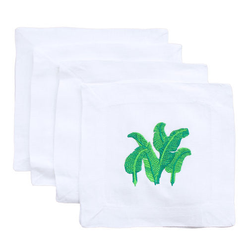 Martinique Palms Cocktail Napkins