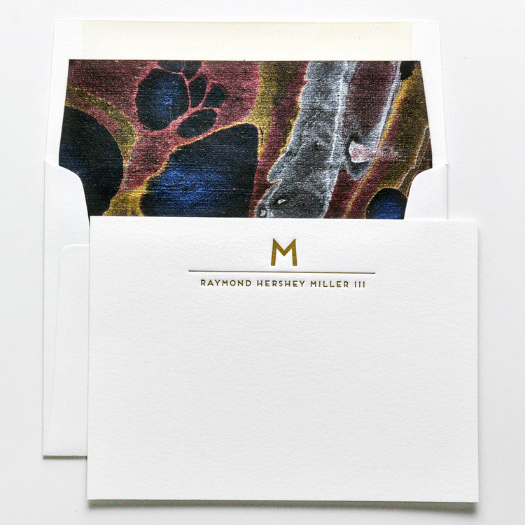 PERSONAL STATIONERY - DESIGN 58