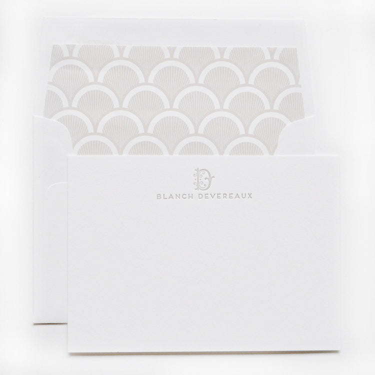 PERSONAL STATIONERY - DESIGN 80