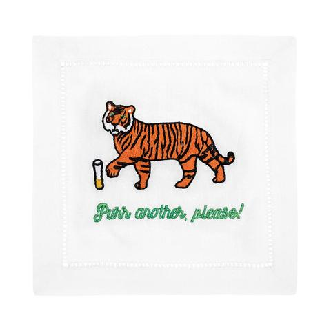 Purr Another Cocktail Napkins