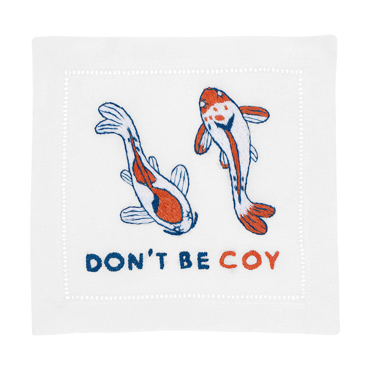 Don't Be Coy Cocktail Napkins