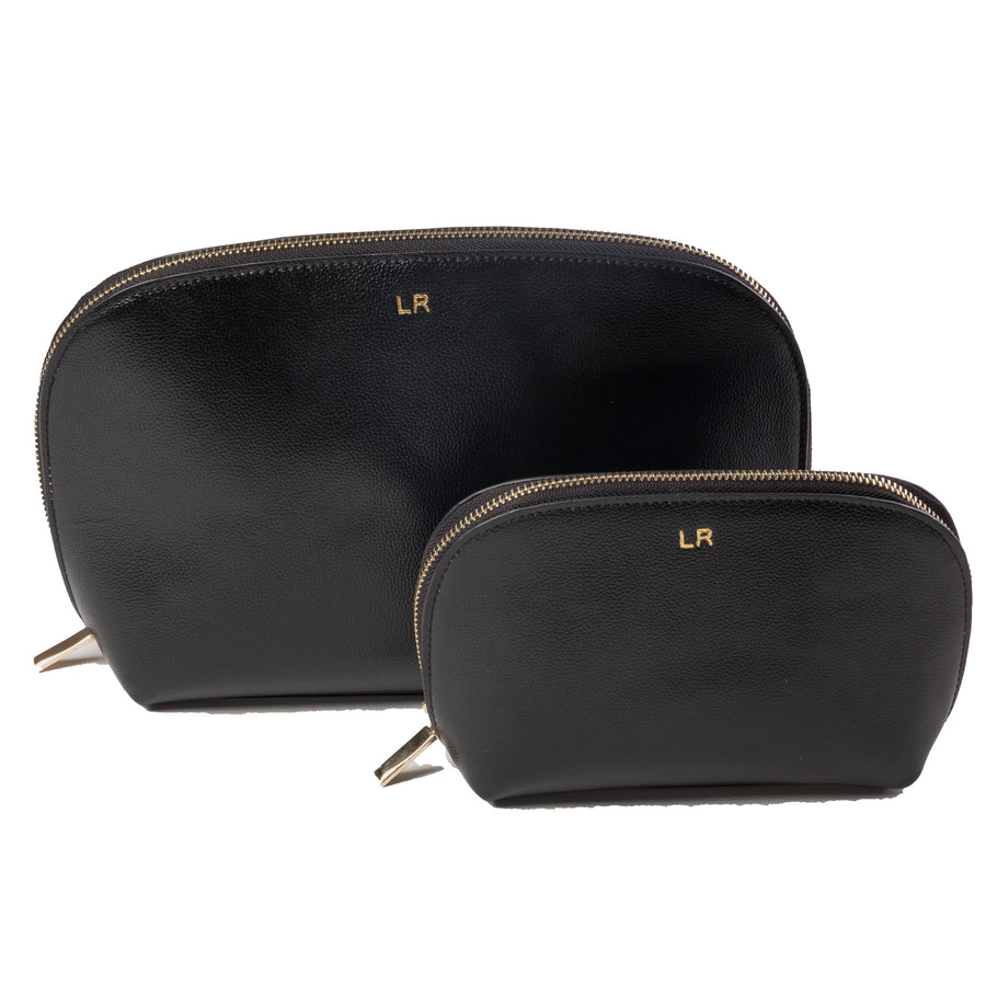 Toiletry Pouch - Black (Pre-Order)