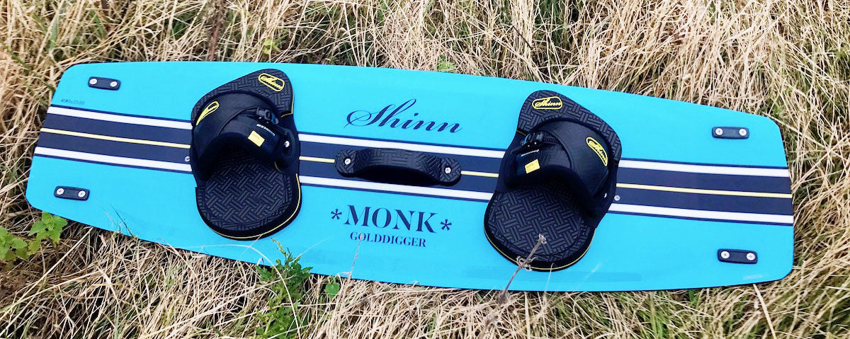 Shinn Monk Gold 2017 Kitesurfing Board UK Shinn Kitesurfing Store Scotland Edinburgh Shinn Kitesurfing Boards