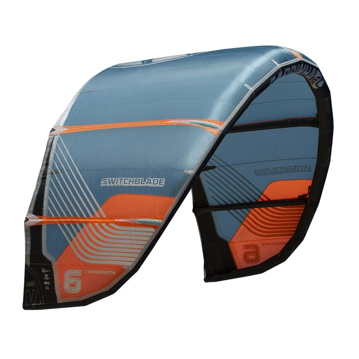 Cabrinha Switchblade 2020 Kitesurfing Kite Blue Orange