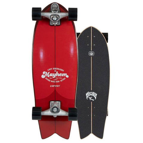 "Carver 29.5"" ...Lost RNF Retro Skateboard"