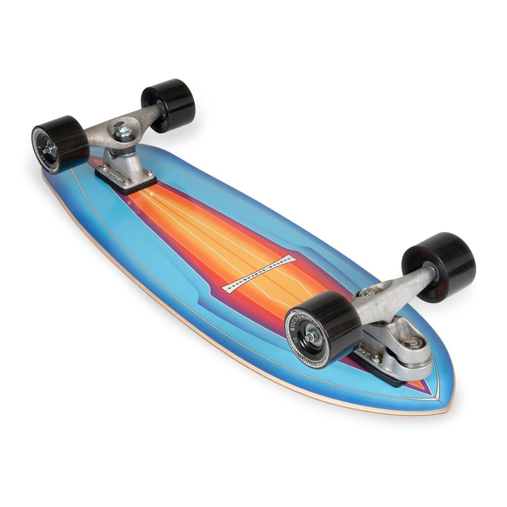"Carver 31"" Blue Haze Surfskate Skateboard"