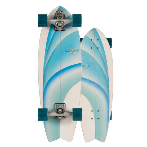 "Carver 30"" Emerald Peak Surfskate Skateboard"
