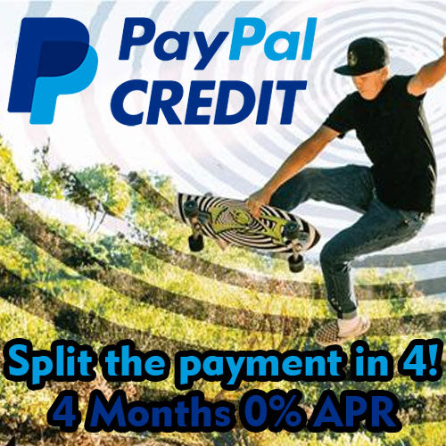 Carver Skateboards PayPal Finance 0 APR