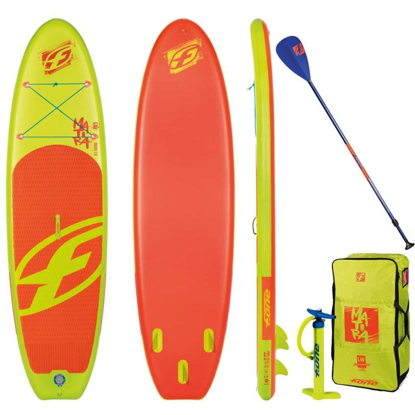 F-One Matira Inflatable SUP Package - 2019 - 10'8""