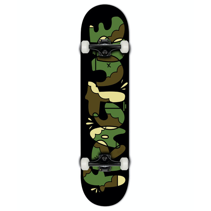 Fracture Skateboards x Yeh Cool Factory Complete Skateboard Camo 7.375""