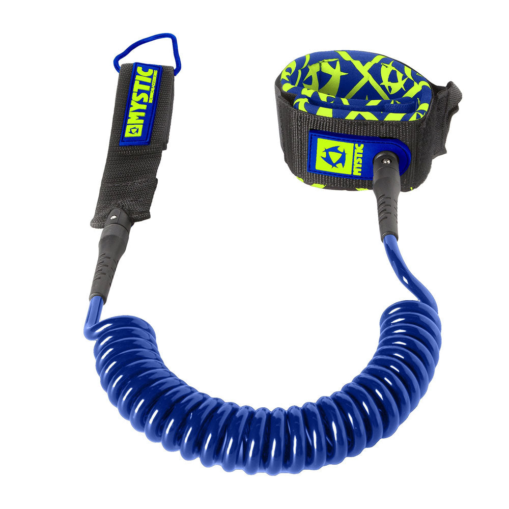 MYSTIC SUP COILED LEASH - NAVY