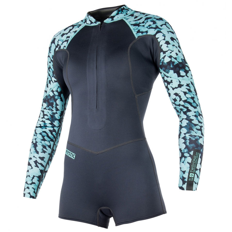 Mystic Diva 5/3 Shorty Women's Wetsuit 2018 Front Zip