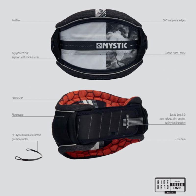 Mystic Majestic X Len10 Harness Features