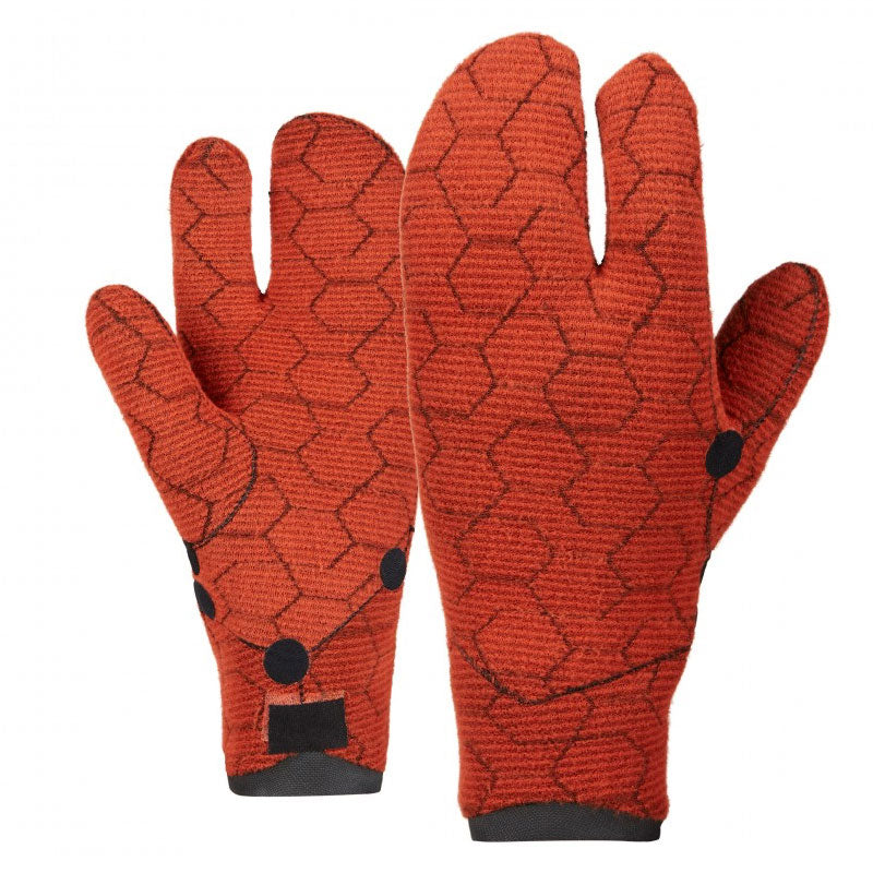 Mystic Supreme Lobster 5mm Gloves 2020 Insides